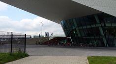 Workshop #codekinderen op het #ncosm congres 2014 in the EYE in Amsterdam.