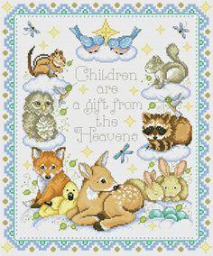 Cross Stitch Owl, Cross Stitch For Kids, Cross Stitch Books, Cross Stitch Charts, Cross Stitching, Disney Cross Stitch Patterns, Silk Ribbon Embroidery, Baby Patterns, Crochet Projects