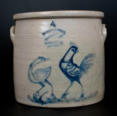 Rare W.A. MACQUOID & CO. / POTTERY WORKS. / LITTLE 12TH : Lot 248