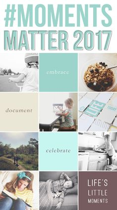 A photo challenge to kickstart a year of meaningful photography in 2017? Yes, please! This year, let's hone in on the moments we truly want to hold on to and use our cameras as a tool that helps us see more clearly the things that matter most.