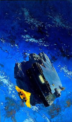 Discover The Art of John Harris, a British artist and illustrator, known for working in the science fiction genre. Space Fantasy, Sci Fi Fantasy, Concept Ships, Concept Art, Spaceship Concept, Sci Fi Kunst, Science Fiction Kunst, Mexico 2018, Arte Sci Fi