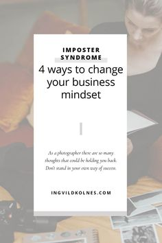 Are you feeling like your thoughts and mindset are holding you back? Almost all wedding photographers experience these thoughts and thinking we aren't good enough. I have shared ten ways that you can deal with imposter syndrome. #impostersyndrom #mindsetchange #mindsethacks #mindsettips #photographers #businesstools #businesstips #weddingphotographers Business Tips, Online Business, You Better Work, Social Media Tips, Self Development, Nye, Mindset, Photographers, How Are You Feeling