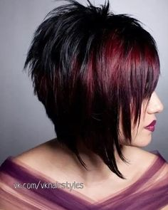 2020 Is The Year Of Beautiful And Changeable Pixie & Bob Hairstyles - Weißes Haar Short Scene Hair, Edgy Short Hair, Short Hairstyles For Thick Hair, Medium Short Hair, Edgy Hair, Short Hair With Layers, Short Hair Cuts, Bob Hairstyles, Medium Hair Styles