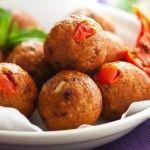 Polpette di pollo avanzato e pomodoro crudo - Ricette in 30 minuti
