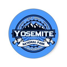 Yosemite National Park Logo Stickers