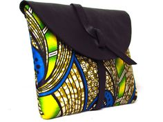 LULU! Stunning clutch bags hand stitched using African fabrics and leathers, so many vibrant colours and patterns and no two bags are the same, each piece is as unique as you are!