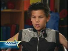 Taylor Lautner Interview (sharkboy and lavagirl)