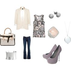 day at work. created by kristenblackburn on Polyvore.