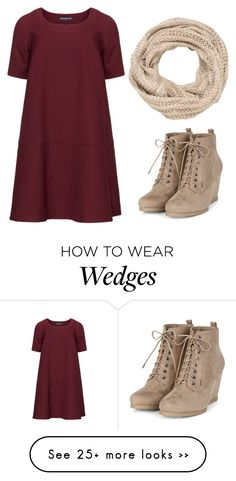 what shoes to wear with maroon dress best outfits - cute dresses outfits Mode Outfits, Casual Outfits, Fashion Outfits, Womens Fashion, Heels Outfits, Tan Wedges Outfit, Burgundy Dress Outfit, Fall Winter Outfits, Autumn Winter Fashion