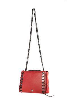 Coofit nuevo bolso Retro para Mujer bolso de hombro con tachuelas con insignia con cadena Mini Bolsos de mensajero Vintage Bolsa femenina Bolsos De