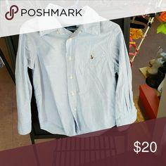 Ralph Lauren button down shirt Button down shirt- Denim Ralph Lauren Shirts & Tops Button Down Shirts