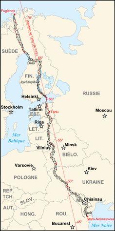 Struve Geodetic Arc - Belarus, Estonia, Finland, Latvia, Lithuania, Republic of Moldova, Norway, Russia, Sweden, and Ukraine