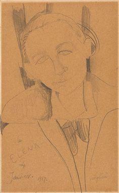 La Elena (Elena Povolozky) Amedeo Modigliani More