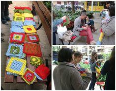 The Crafty Room: acción urbana en nuestra plaza