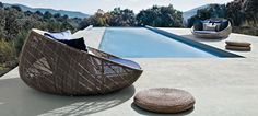 Beautiful Canasta 13 outdoor collection by B&B designed by Patricia Urquiola