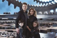 Jessica Alba, Joel McHale, Mason Cook, and Rowan Blanchard in Spy Kids All the Time in the World Spy Kids Movie, Spy Kids 4, I Movie, Degrassi Junior High, Autocad Civil, Joel Mchale, World Movies, Buffy Summers, Time In The World