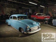 1950 Chevy Fleetline - Hot Rod Industrial - Rod