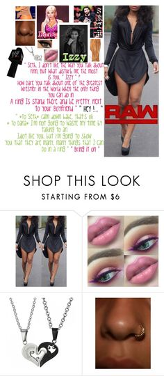"""🦁 Izzy 🦁 Raw ~ Promo with Seth and getting challenged by Dana Brooke"" by queenofwrestling ❤ liked on Polyvore featuring WWE, Monday, wrestling, sethrollins and danabrooke"