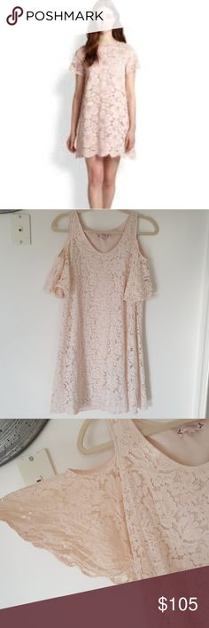 Nanette Lepore Secret Garden Dress. Thus dress is very soft size 4 and reminds me of a baby doll dress. This Nanette Lepore line is very high class. It is a very light pink and the inside material is still like. I am will to bargain on this. Nanette Lepore Dresses