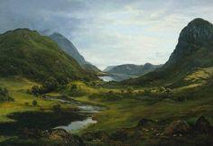 """John Glover """"Thirlmere"""" 1820"""