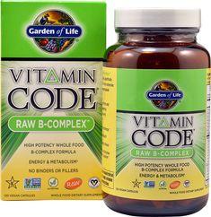 Garden of Life Vitamin Code® RAW B-Complex™
