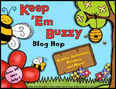 Keep 'Em Buzzy! Blog Hop + FREEBIE - Differentiation Station Creations