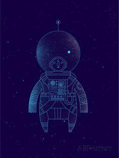 The Traveler by Richard Perez #Illustration