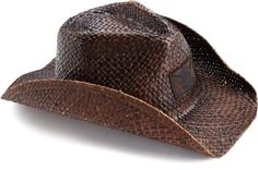 Quiksilver Men's Ranger Cowboy Hat, Brown, One Size Mens Cowboy Hats, Western Cowboy Hats, Western Wear, Hat For Man, Mens Fashion, My Style, Brown, Ranger, Stuff To Buy