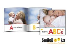 Baby StoryBooks at SmileBooks! Loads of cute baby and kids templates! 8x8 softcover, 26 pages for $26.95 #smilebooks #baby #kids #storybooks #photobook #photo