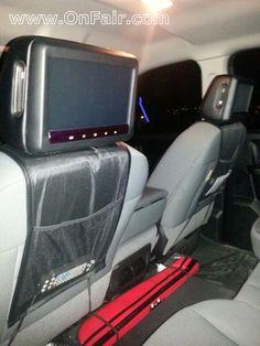Autotain Car Headrest DVD Player Customer Testimonial - 2013 Dodge Ram 1500 #headrestdvdplayer #family