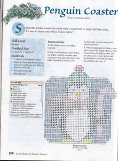 Penguin Coaster pg 1