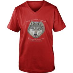 Wolf Mountain Sanctuary - Logo TShirts - LIMITED TIME ONLY. ORDER NOW if you like, Item Not Sold Anywhere Else. Amazing for you or gift for your family members and your friends. Thank you