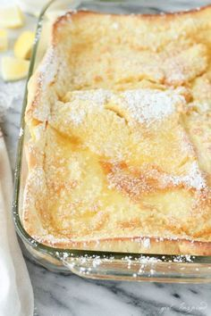 Pancakes German Oven Pancakes - a family favorite, only 5 minutes to prep, so good!German Oven Pancakes - a family favorite, only 5 minutes to prep, so good! Waffles, Oven Pancakes, Dutch Pancakes, German Pancakes Recipe, Kodiak Pancakes, Lemon Pancakes, Paleo Pancakes, What's For Breakfast, Breakfast Dishes