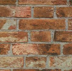 Tapete Steinwand Motiv Backsteinwand 10 Meter Rolle in Heimwerker, Farben, Tapeten & Zubehör, Tapeten | eBay