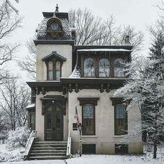 The Benton house, Irvington, Indiana