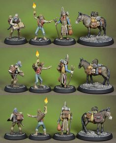 Henchmen & Hirelings - Otherworld Miniatures