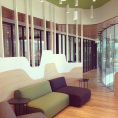 Murphy Pipe and Civil - informal meeting space. Jarosz Design in collaboration with Marc&Co and BaberStudio #meetingroom #interiordesign #jardan #jardanfurniture #officeinteriors #design