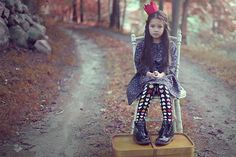Jade/Dress and tights by Polarn o Pyret/ Headband by Jumina, a Norwegian Fairytale. Oh, grandmother, what a big mouth you have! Jade Dress, Crowns, Fairytale, Kids Fashion, Childhood, Tights, Spring Summer, Punk, Magazine