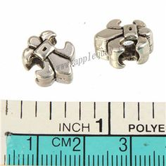 Zinc Alloy Flower Large Hole Beads,France Lily,Plated,Cadmium And Lead Free,Various Color For Choice,Approx 13*10.5*8mm,Hole:Approx 4.5mm,Sold By Bags,No 010161