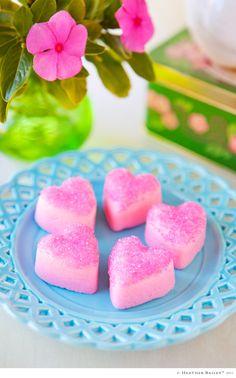 valentine mint hearts © Heather Bailey