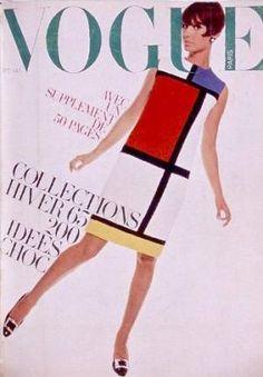Vintage Vogue magazine covers - mylusciouslife.com - Vintage Vogue Paris September 1965.jpg