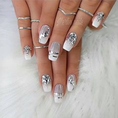 Makeup Nails Designs Makeup Nails Designs Manicure nude beige glitter, taupe nail women nail art natural Source with Unique Fashion Nails Picture Credit Cute Summer Nail Designs, Cute Summer Nails, Cute Nails, Nail Summer, Popular Nail Designs, Nail Art Designs, Latest Nail Designs, Nail Designs Pictures, Gel Nails