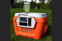 THE COOLEST COOLER CHARGES UP YOUR PARTY WITH A SPEAKER, LEDS AND EVEN A BLENDER