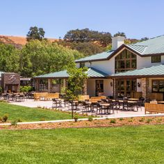 The late television actor's family runs a mini-empire in Los Olivos, which includes the main winery tasting room—rustic chic, but in a South-of-France, not a backwoods, way—the sparkling wine devoted Bubble Shack, and the upscale, boutique Fess Parker Inn, with its estimable restaurant. The family turns out a considerable range of wine, including the Rhône-oriented Epiphany label, most of it of high quality, and at a welcoming range of prices. fessparker.com
