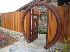 This moon gate is a work of art.  I love it!
