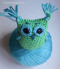 crochet owl Eule häkeln, tutorial, pattern
