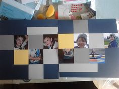 A simple page using Outdoor Denim, Canary and Whisper Cardstock from Close to My Heart. All is available from my on-line store www.lindajestrimski.ctmh.om.au packs of 24 sheets $22 AUD