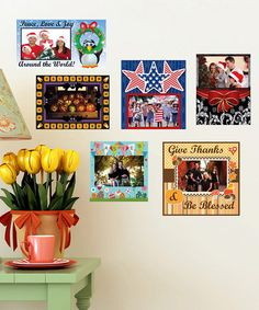 Take a look at this Holiday Frame Decal Set by Mona MELisa Designs on #zulily today!
