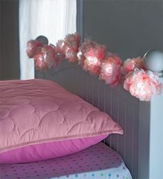 We thought we could do a really cool, garden/park corner with these as a central piece. Lighted Peony Flower Garland