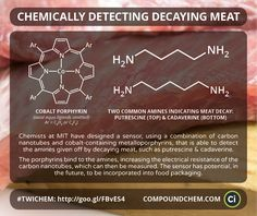 Chemists at MIT have developed a new portable sensor which can detect when meat is starting to go off. Featured in 'This Week in Chemistry'.